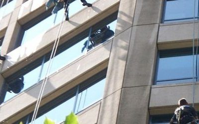 Sky-High Window Cleaning in Cleveland, OH: Essential Equipment