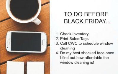 Black Friday, not Black Windows